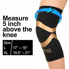 copper fit pro series compression knee sleeve copper fit pro series compression knee brace sleeve