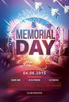 Memorial Day Flyer Memorial Day Flyer Template Download Psd File 6