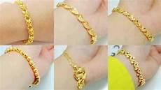 Delicate Gold Bracelet Design 8 Gram Gold Bracelet Stylish Designs For Girls Latest New