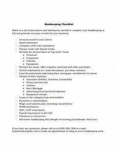 Daily Bookkeeping Checklist 12 Bookkeeping Checklist Samples And Templates In Pdf