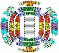 Saints Virtual Seating Chart 1 6 Tickets New Orleans Saints Vs Houston Texans 9 25 L Ebay
