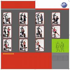 Parabody Home Gym Workout Chart Gym Exercise Chart Free Download