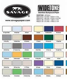Savage Paper Chart Savage Color Chart For Background Paper In 2019 Paper