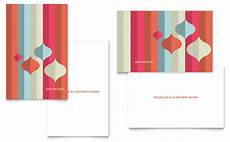 Microsoft Publisher Greeting Cards Templates Modern Ornaments Greeting Card Template Word Amp Publisher