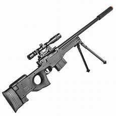 airsoft sniper rifle l96 gun mk13 mod l96a1 scope bipod