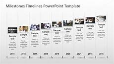 Timeline With Pictures Template Powerpoint Timeline With Pictures Slidemodel