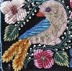 cherry gallery journal 187 iroquois beaded wallet