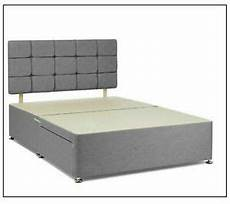 linen silver divan base bed 4ft6 5ft 4ft storage