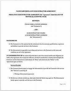 Freelance Contract The Freelance Contract How To Write An Effective