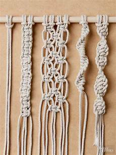 macrame knots how to tie macrame knots