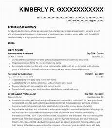 Executive Assistant Objective 25 Administrative Assistant Objective Statement