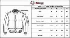 Mens Jacket Size Chart Bomber Leather Jacket Size Chart Mens Leather Jacket