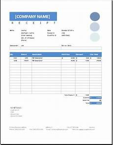 sale receipt template excel sales receipt templates for ms word excel receipt