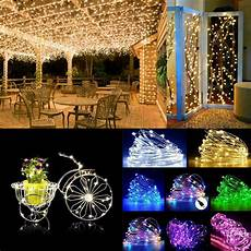 String Lights Fairy Lights Warm Cool White Rgb 2m 3m 10m Led Copper Wire Led