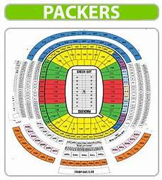 Green Bay Packers Seating Chart Green Bay Packers Seating Chart Lambeau Field