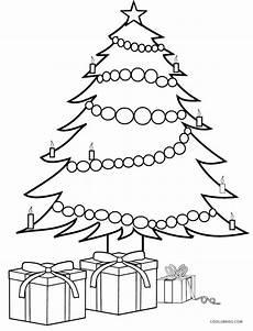 Ausmalbilder Weihnachten Tannenbaum Mit Geschenken Printable Tree Coloring Pages For Cool2bkids