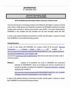 Procedure Note Template Procedure Template 12 Free Word Documents Download