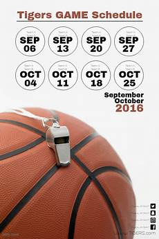 Free Basketball Schedule Maker Basketball Game Schedule Template Postermywall