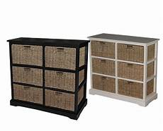 solid wood grenshaw accent cabinet storage with 6 seagrass