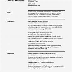 Resume In Doc Google Docs Resume And Cover Letter Templates
