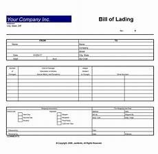 Bill Of Lading Template Free Download 40 Free Bill Of Lading Forms Amp Templates ᐅ Templatelab