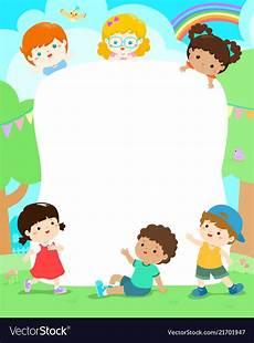Playground Templates Blank Playground Template Happy Kids Poster Design