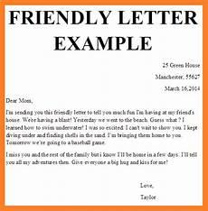 Example Of A Short Friendly Letter June 2015 Y6 English Senior School