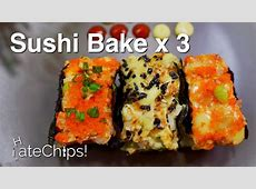 Sushi Bake (3 Easy Recipes)   YouTube