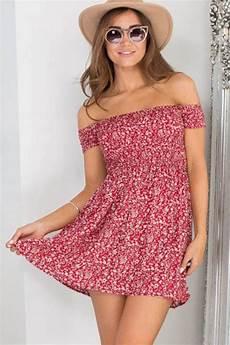 shoulder floral print sleeve casual