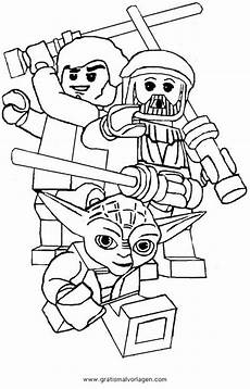 lego wars 05 gratis malvorlage in comic