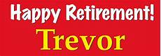Happy Retirement Banner Printable Happy Retirement Banner Personalised Banners