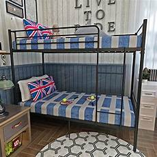 Panana 2 X 3ft Single Metal Bunk Bed 2 by Panana Metal 3ft Single Bunk Bed Frame With Safety