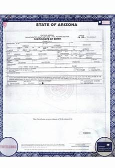 Birth Certificate Example Birth Certificate Translation Of Public Documents
