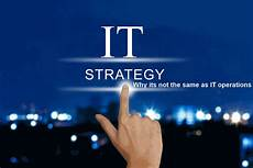 It Strategy Strategic It Management Is Not It Operations Nico