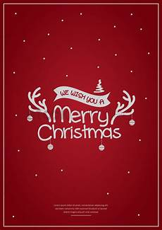 Chrismas Posters Merry Christmas Poster Design Vector Image 1744229