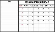 Write On Calendar 2020 Free Printable March Calendar 2020 Blank Template Editable