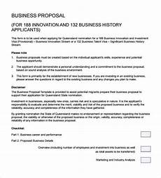 Business Proposals Templates Sample Business Proposal 24 Documents In Pdf Word