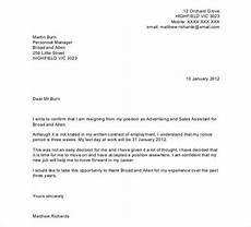 Resignation Letter Layout 27 Resignation Letter Templates Free Word Excel Pdf