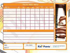 Practice Charts For Music Students Music Practice Piano