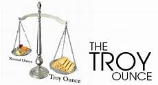 Troy Ounce Vs Ounce Chart How Many Grams In An Ounce Of Silver