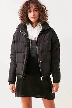 Light Blue Puffer Jacket Urban Outfitters Women S Coats Parkas Urban Outfitters