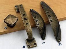 rustic knobs dresser drawer pulls handle antique bronze