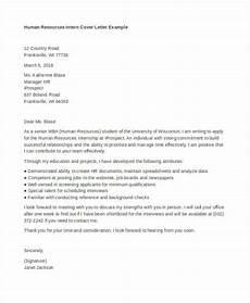Cover Letter Internship Templates 9 Internship Cover Letter Free Sample Example Format