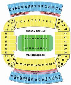 Auburn University Football Stadium Seating Chart Jordan Hare Stadium Jordan Hare Football Stadium Seating