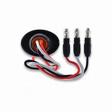 3 Led Light 3 4 Quot Oval Red Stop Turn Amp Led Light 2 Diodes