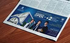 Free Advertising Papers Free Newspaper Horizontal Print Ad Mockup Psd Good Mockups