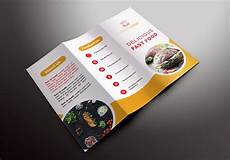 Food Brochure Templates Fast Food Trifold Brochures Brochure Templates