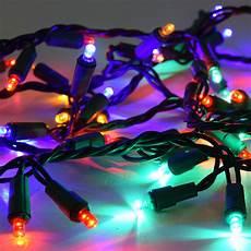 Colored Led Lights Christmas 60 Multi Color Led Garland Lights