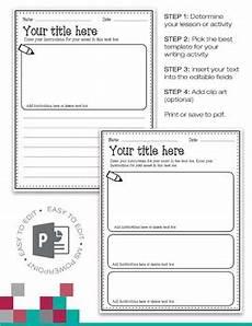 Create Your Own Powerpoint Templates Editable Writing Templates Powerpoint Create Your Own