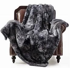 golden home soft fuzzy faux fur reversible tie dye